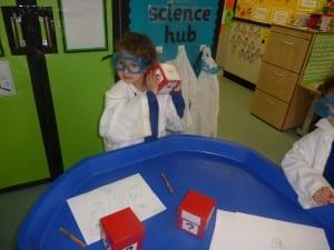 Reception Science Stars